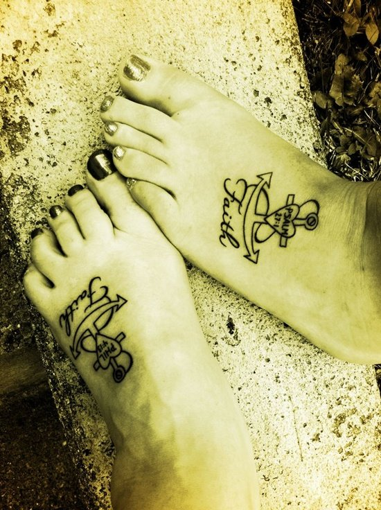 Feet Tattoo Designs (33)