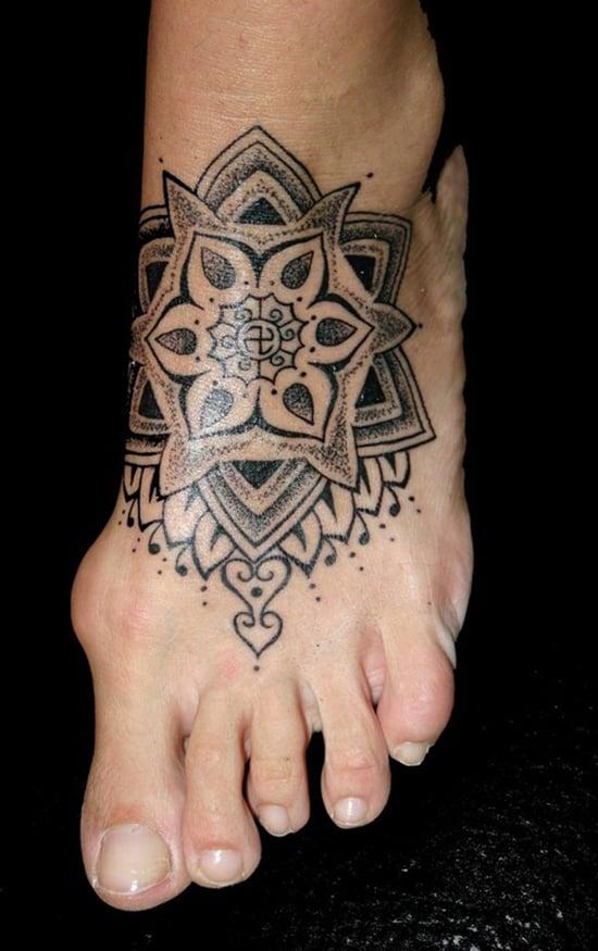 Feet Tattoo Designs (34)