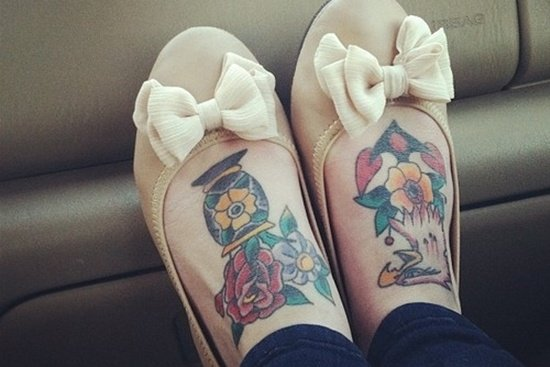 Feet Tattoo Designs (35)