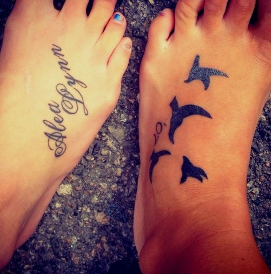 Feet Tattoo Designs (7)