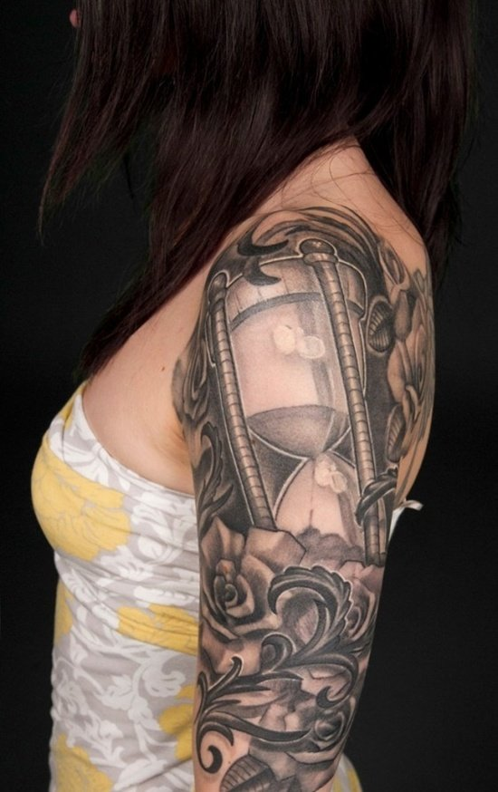 HOUR GLASS TATTOO (19)
