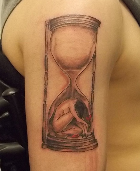 HOUR GLASS TATTOO (20)