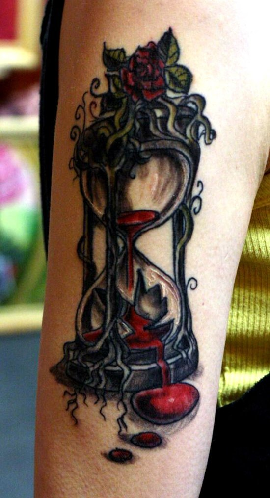 HOUR GLASS TATTOO (28)