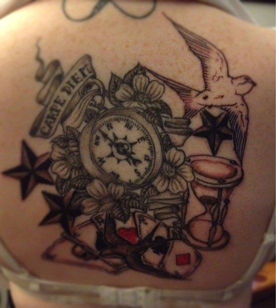 HOUR GLASS TATTOO (3)