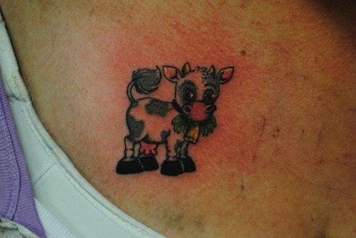 cow tattoo (12)