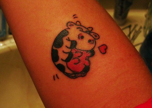 cow tattoo (13)