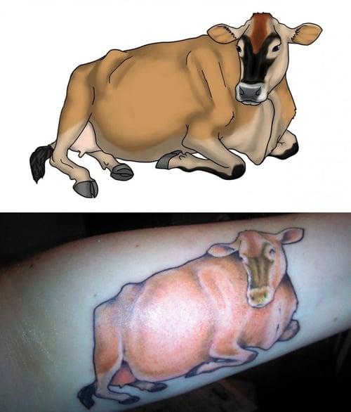 cow tattoo (16)