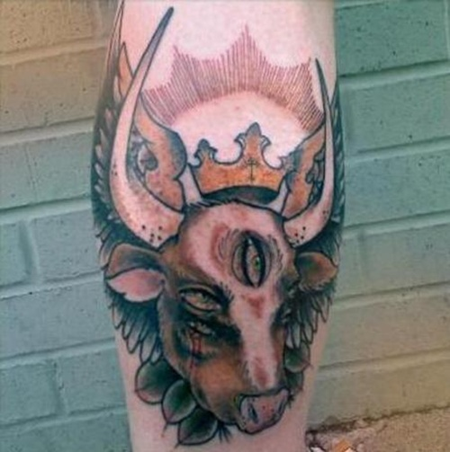 cow tattoo (21)