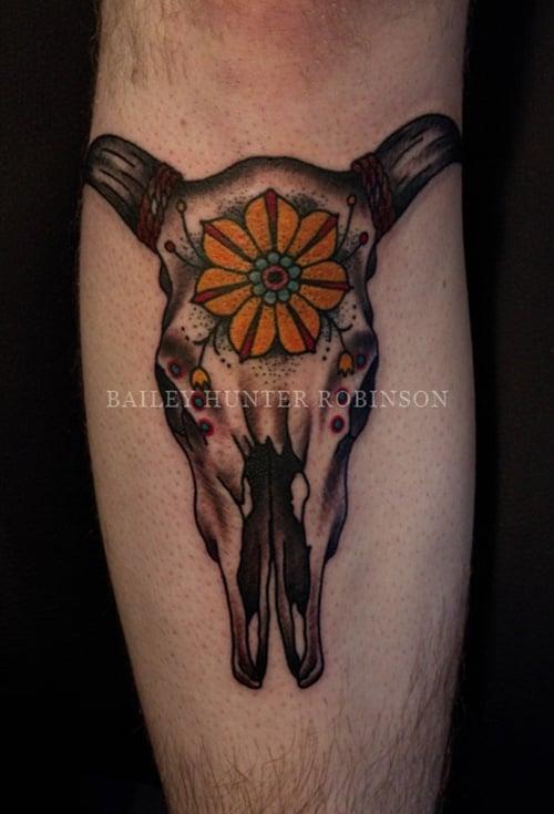 cow tattoo (22)