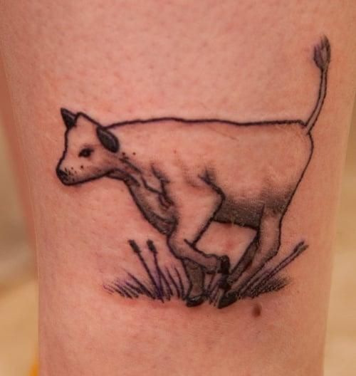 cow tattoo (8)