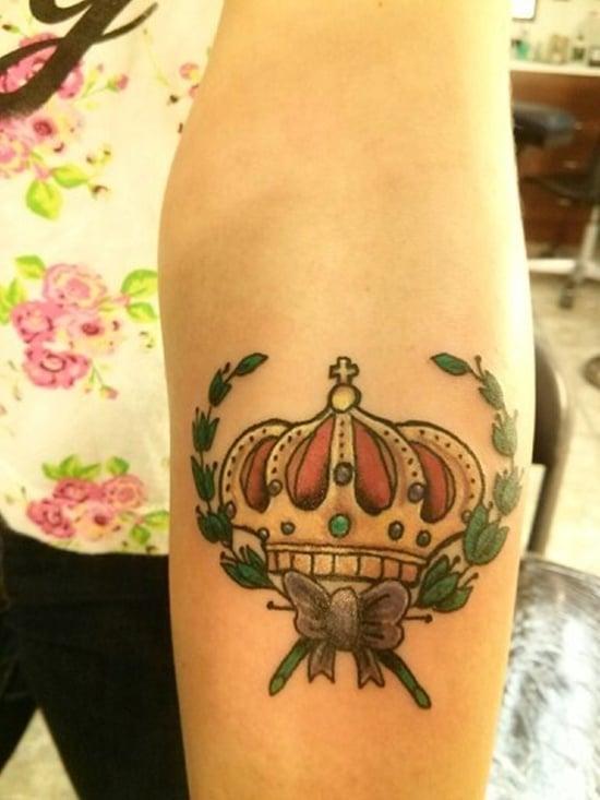 crown tattoo (16)