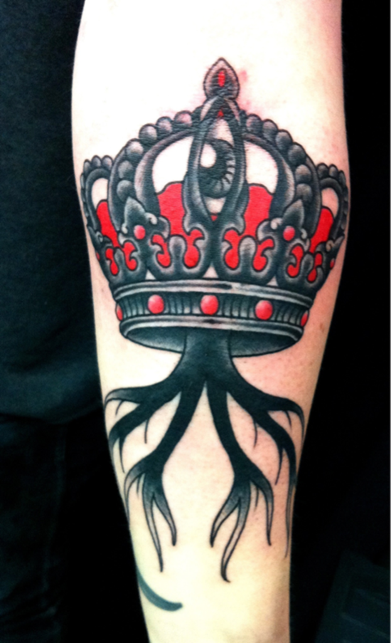 crown tattoo (25)