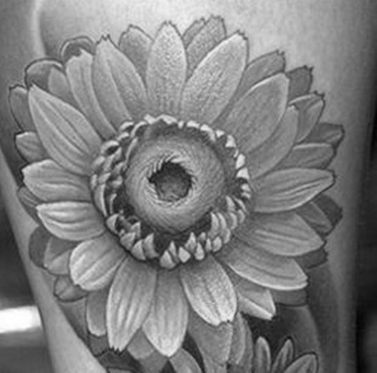 daisy tattoo (15)