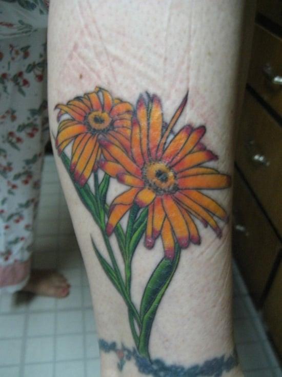 madeliefje tattoo (2)