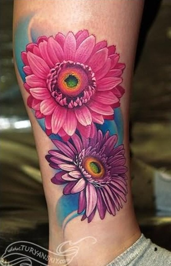 daisy tattoo (22)