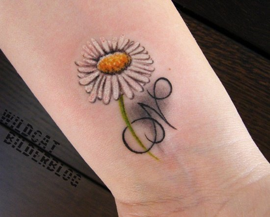 daisy tattoo (9)