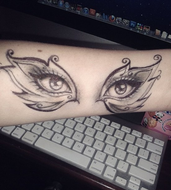eyes tattoo (39)