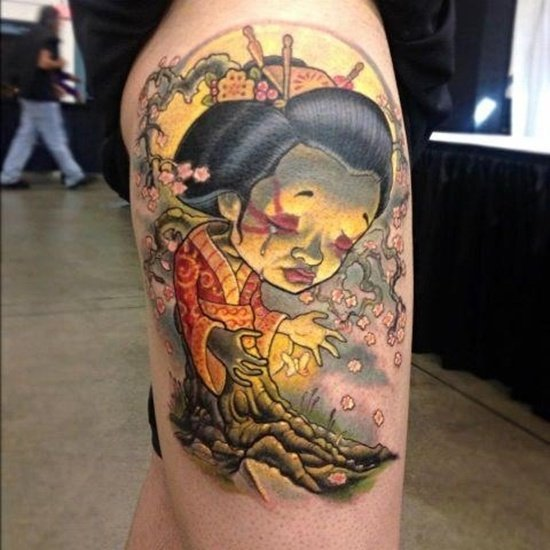 geisha tattoo (10)