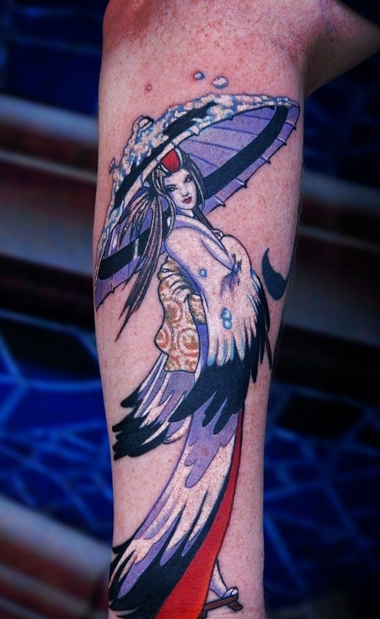 geisha tattoo (11)