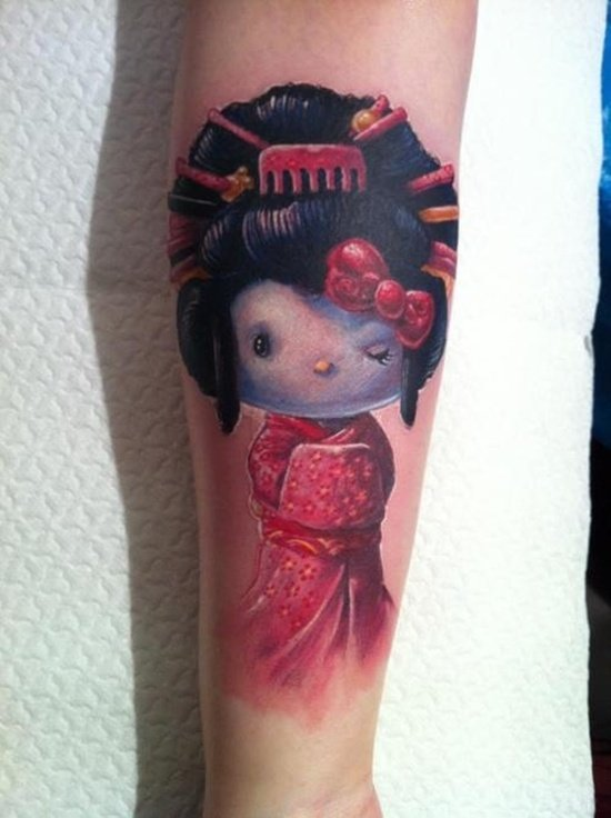 geisha tattoo (2)