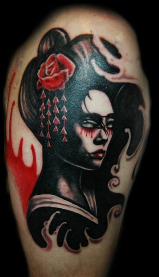 geisha tattoo (30)