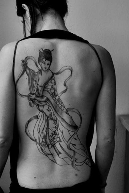 geisha tattoo (7)