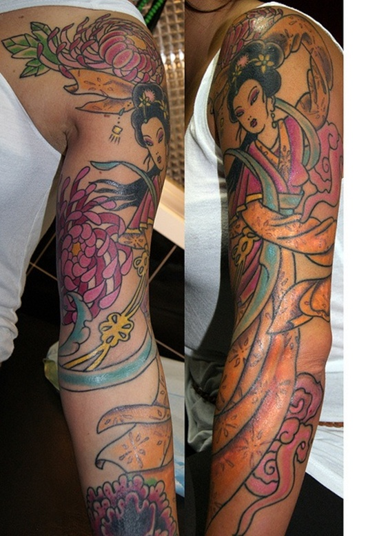 geisha tattoo (9)