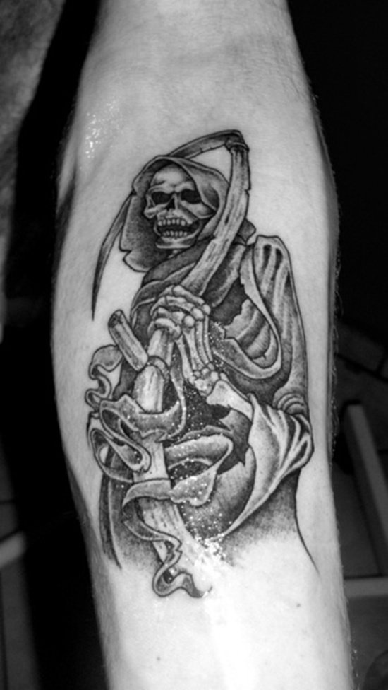grim reaper tattoo (11)