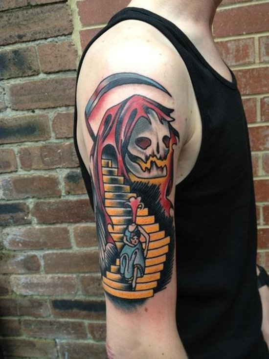 grim reaper tattoo (19)