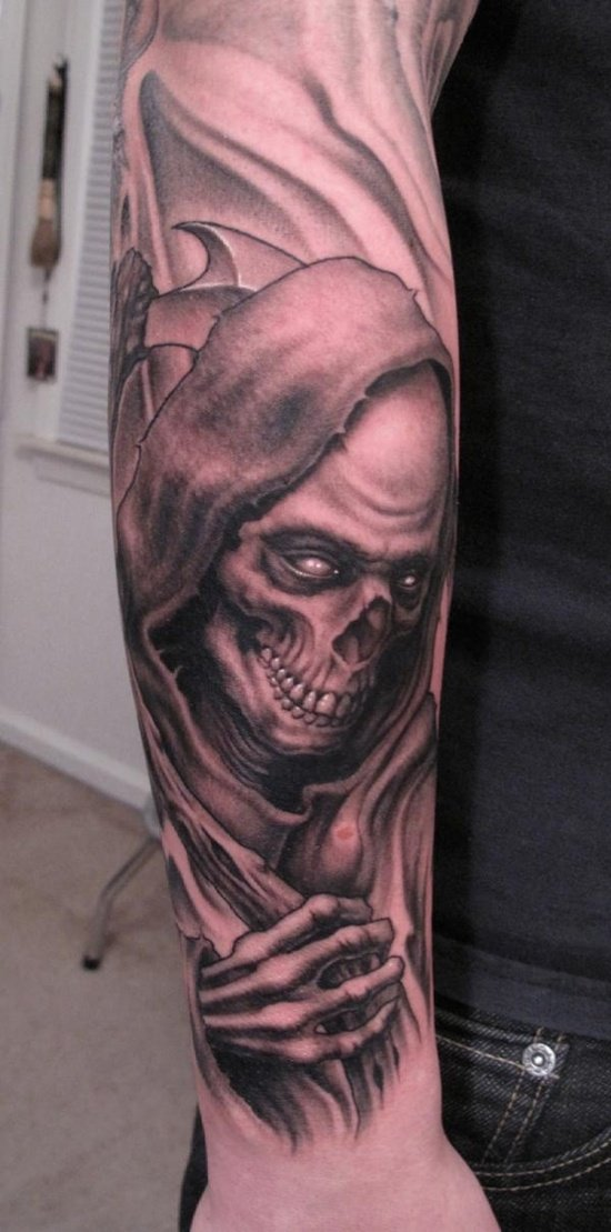 grim reaper tattoo (6)
