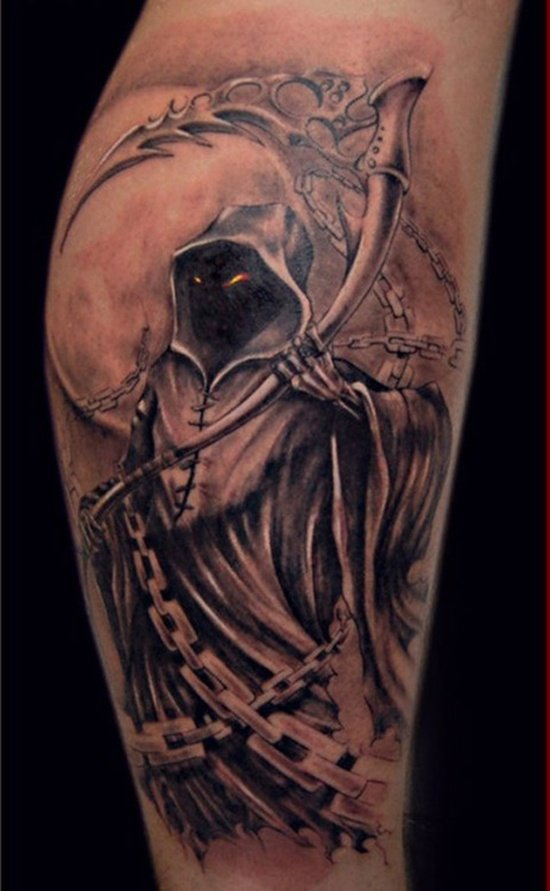 grim reaper tattoo (7)
