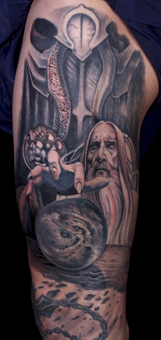 Symbolism Lord of The Rings Lord of The Rings Tattoo 10