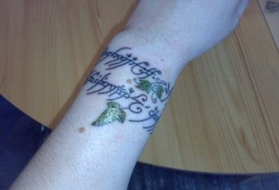 lord of the rings tattoo (13)