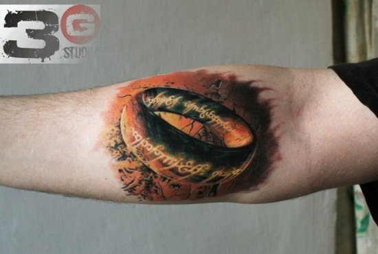 lord of the rings tattoo (21)