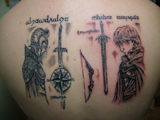 lord of the rings tattoo (23)