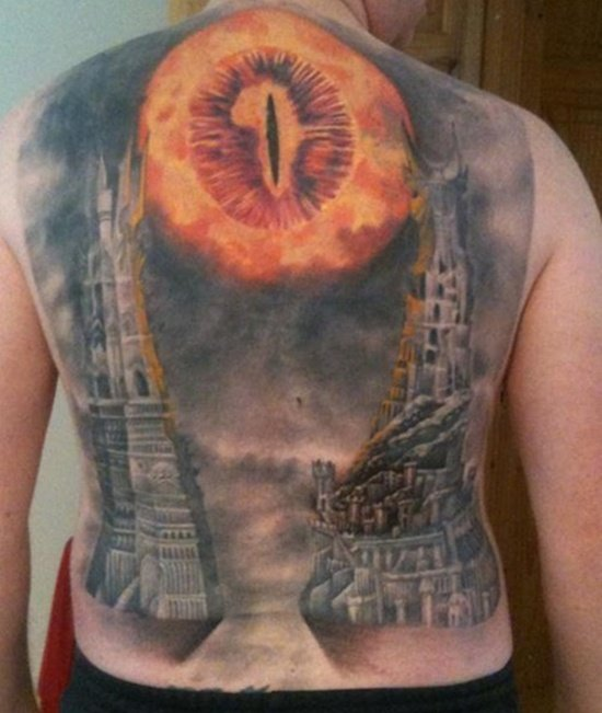 lord of the rings tattoo (9)