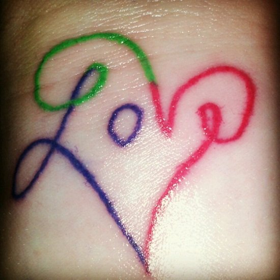 30 Best Love Tattoo Designs