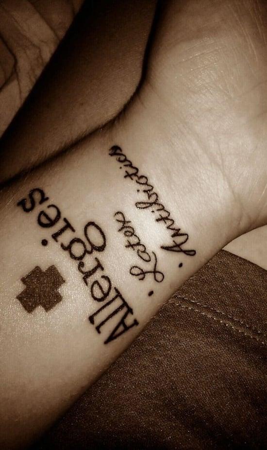 Medical Id Tattoo