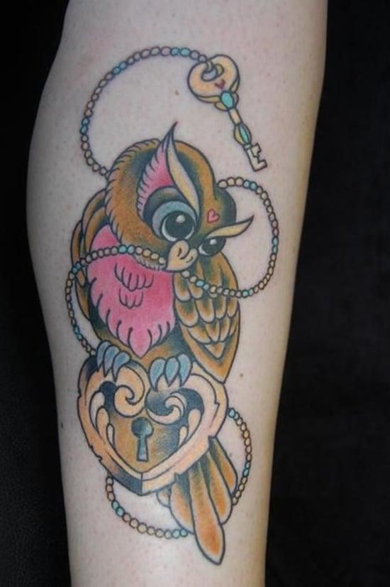 owl tattoo (1)