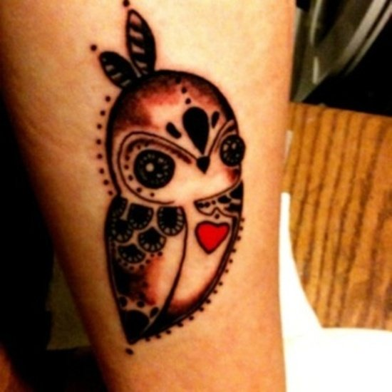 owl tattoo (10)