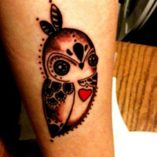 owl tattoo (10)
