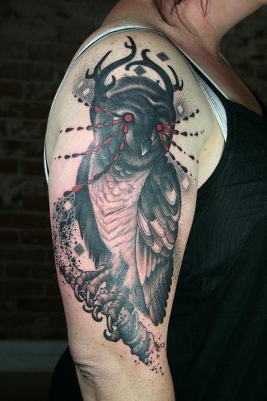 owl tattoo (12)