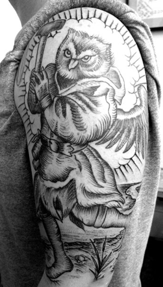 owl tattoo (15)