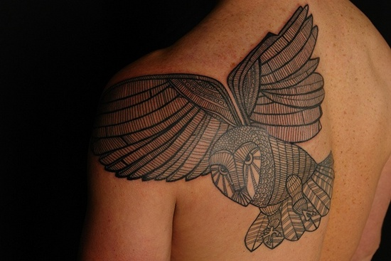 owl tattoo (16)