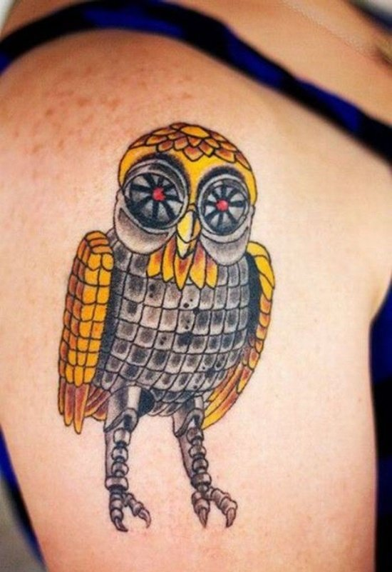 owl tattoo (18)