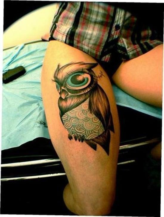 owl tattoo (21)