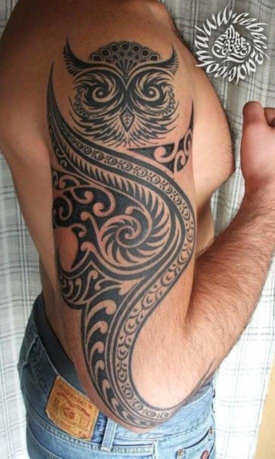 owl tattoo (23)