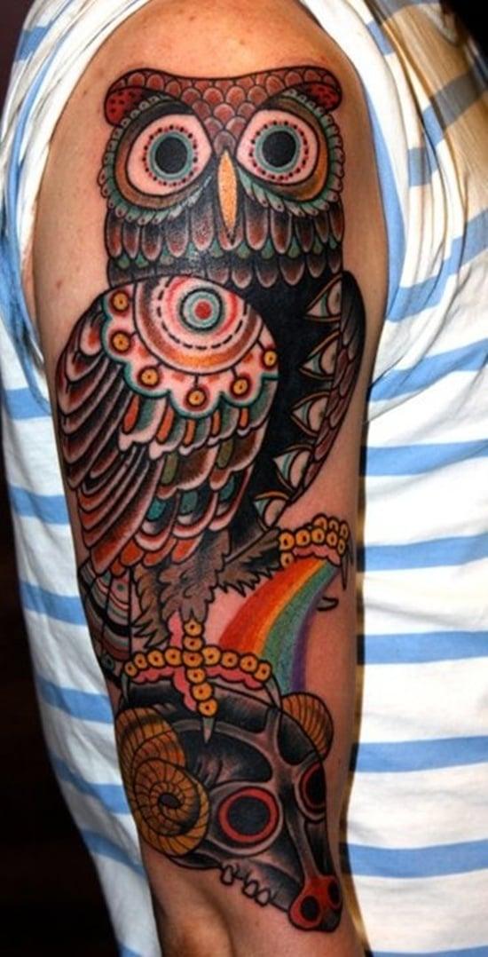 owl tattoo (25)