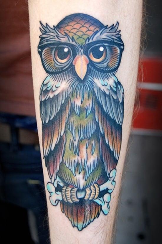 owl tattoo (26)