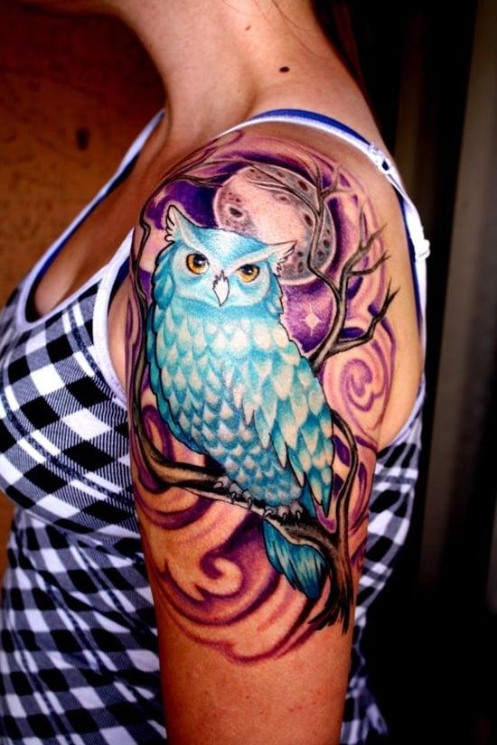 owl tattoo (27)